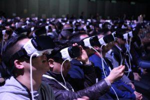 People Experiencing VR