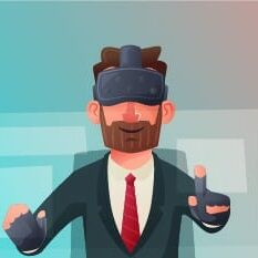 VR training in action