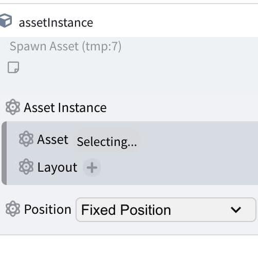 asset spawn